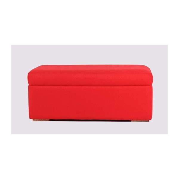 Red Ottoman Trendy Homes